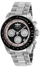 Invicta Speedway 23120 Men's Round Analog Chronograph Date Stainless Steel Watch