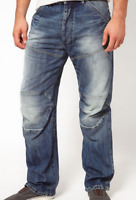 G-Star 3D Elwood Loose Tapered JEans Medium Ages Mens Size UK W30 L34  *REF94