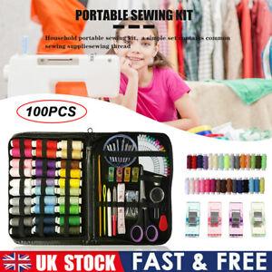 Sewing Machine Pack of 100 Thread Set Sewing Machine Spool Bobbin Set Kit Reel
