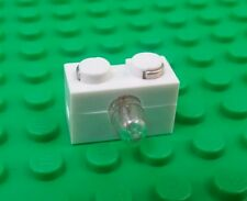 *NEW* Lego White 1x2 Light Brick Block Light on Side Electronic x 1 piece