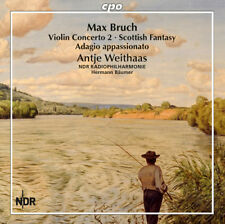 Max Bruch : Max Bruch: Violin Concerto 2/Scottish Fantasy/Adagio Appassionato