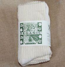 Organic Threads Cotton athletic Crew Socks MADE USA women's farming Mid Calf