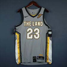 8db4b5f39329 100% Authentic Lebron James Nike City Edition Cavaliers Jersey Size 52 XL  Mens