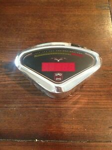 harley speedometer tachometer digital thunderheart billet bracket saxon new mph