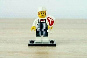 Lego Metzger Minifigur (col094) aus Minifiguren Serie 6   Schlachter, Metzgerei