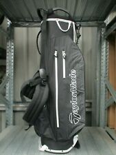 TaylorMade 3 Under Waterproof Stand Bag in black/white - new without tags