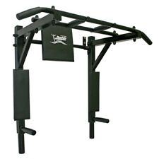 Pull up bar wall mounted 3 in 1 (black handles) PROFI
