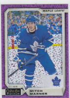 18/19 PLATINUM..MITCH MARNER..VIOLET PIXELS..# 85.MAPLE LEAFS.FREE COMBINED SHIP