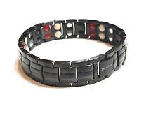 Authentic  ION EFFECT Negative Ion Bracelet  BALANCE life Energy MATT BLACK