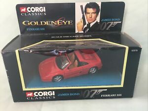 Corgi Classics JAMES BOND 007 Goldeneye FERRARI 355 Diecast Car MIB