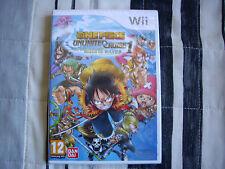 One Piece Unlimited Cruise 1 - Wii - Nuevo, Precintado - Edicion España