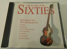 Top Ten Hits of the Sixties - The Supergroups ( 1997 CD Album ) Used Very Good