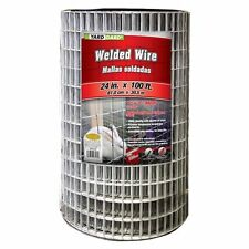 "YARDGARD 24"" x 100', 2"" x 1"" Mesh, Galvanized Welded Wire, 14 Gauge. 567636"