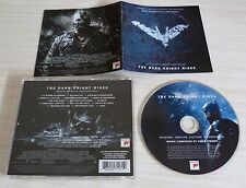 CD ALBUM BOF THE DARK HNIGHT RISES MUSIQUE DE FILM HANS ZIMMER 15 TITRES 2012