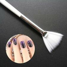 Slim Fan Shape Powder Concealor Blending Makeup Brush Nail Art Brush for Makeup