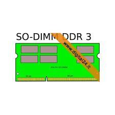 RAM DDR3 PC3-8500 (1066MHz), 2 GB, SO-DIMM (204 Pin - Notebook) - Kingstone