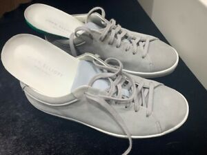 John Elliott Low Top Sneakers Grey Gray Nubuck 41 CP