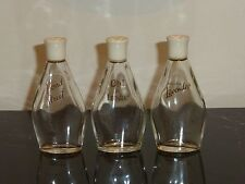 3 Vintage Yardley Bottles Oh! de London, White Lavender and Bond Street 3 3/4""