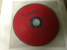 BLONDIE SPANISH CD SINGLE SPAIN - 1 TRACK PROMO NOTHING IS REAL BUT THE GIRL