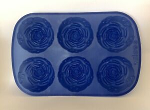 Silicone Mould Six Flowers Roses Baking Crafting