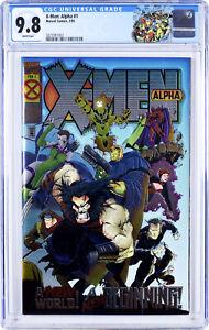 X-MEN: ALPHA #1 ~ CGC 9.8 WHITE Pgs ~ 1ST DARK BEAST!! Chromium Cover (Lot 4 5)