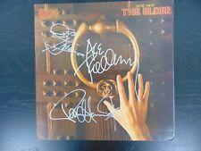 """Kiss"" Group Signed Album Cover Todd Mueller COA"