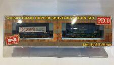 Peco N Gauge Whisky Grain Hopper Wagon Set NR-P502 'The Blues' NR P503 Limited