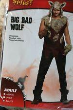 Spirit Adult Costume Big Bad Wolf ~XL~