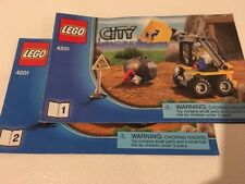 LEGO 4201 CITY INSTRUCTION MANUALS ONLY