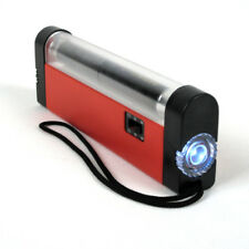 6 Inch Mini Portable Ultra Violet UV Black Light Lamp Torch With LED Flashlight