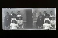 Francia Famille Foto Negativo PL51L27n7 Placca Da Lente Vintage 1909