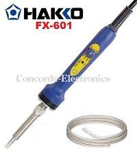 "Hakko Fx-601: Adjustable Temperature Control Soldering Iron (3/16"" Tip & Solder)"