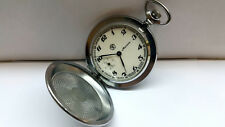 NEW OLD STOCK Molnija USSR pocket watch mechanical movement excellent conditions