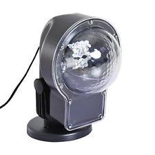 Homcom Proiettore LED per Feste Party da esterno e interno con Telecomando