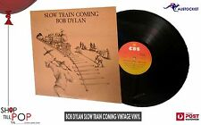 Bob Dylan Slow Train Coming  CBS 237339  Vintage Vinyl 1st Press Mint 1979