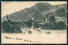 Trento Città Piazza Dante cartolina VK1878