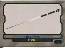 Star Wars Galactic Files 2 Blue Parallel Base Card #610 Force Pike