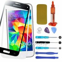 Front Screen Touch Glass Lens Replacement For Samsung Galaxy S5 Tools UV Glue