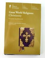 The Great Courses Great World Religions: Christianity DVD and Guidebook New