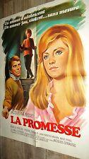 LA PROMESSE  ! jacqueline bisset  affiche cinema 1969 grinsson