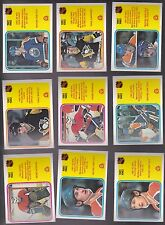 1982 - 83 OPC LOT of 9 NHL LEADERS Cards NM+ o-pee-chee 5 different GRETZKY
