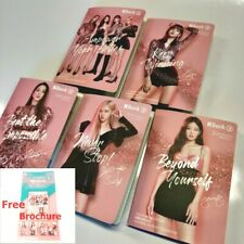 Set of 5 BLACKPINK Collection Card Kbank Thai Limited Edition FREE Brochure