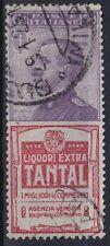 1924 REGNO D' ITALIA PUBBLICITARI NR.18 MOLTO BEN CENTRATO USATO RR