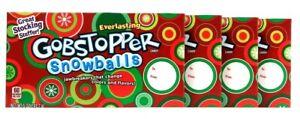 4 Everlasting Gobstopper 5 Oz Snowballs Jawbreakers Change Flavor & Color Candy