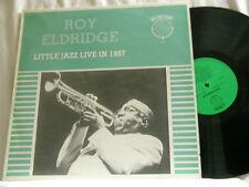 ROY ELDRIDGE Live 1957 Buddy DeFranco J J Johnson Bud Freeman Jo Jones LP