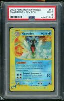 2003 Pokemon Skyridge #11/144 GYARADOS Reverse Holo Foil Rare PSA 9 MINT