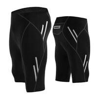 Men's Cycling Shorts 3D GEL Padded Cushion Racing Quick-Dry Shorts Pants Tight