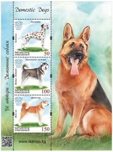 2020 Kyrgyzstan Domestic Dogs Fauna MNH