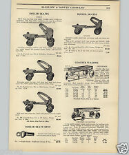 1925 PAPER AD Sherwood Spring Coaster Wagon Chummy Roadster Wood Wooden