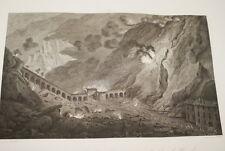 NAPOLEON ARTILLERIE FORT DE BARD GRAVURE 1838 VERSAILLES R1043 IN FOLIO